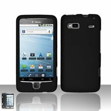 Hard Rubberized Case for HTC T-Mobile G2 - Black