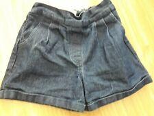 Girls M&S Dark Denim Shorts 2-3 Years
