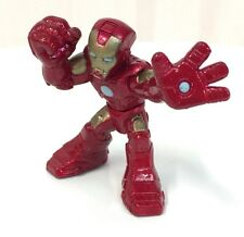 Marvel Super Hero Squad IRON MAN Modern in Metallic Red / Gold Armor  #039