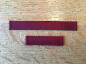New - Satin Strap Cartier Strap Satin Burgundy - For Closing Down 12 MM