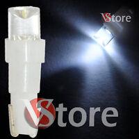 2 LED T5 CONCAVE BIANCO Lampade Luci Lampadine Per Quadro Strumenti Posizione W5