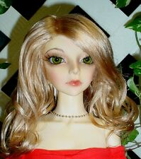 "Doll Wig, Monique Gold ""Ciara"" Size 7/8 in Light Golden Blonde"