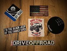 6x JEEP Aufkleber Offroad Wrangler USA Mopar Tuning SUV V8 Diesel Willys Set 19