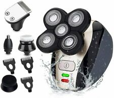 5 IN 1 4D Washable Electric Shaver Rechargeable Bald Head Shaver Beard Trimmer
