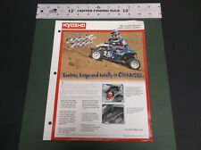 COLLECTIBLE KYOSHO 1:4 SCALE  R/C ELECTRIC QUAD RIDER ATV BROCHURE *G-COND*