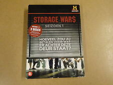 3-DISC DVD BOX / STORAGE WARS - SEIZOEN 1 / SAISON 1