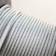 Stahlseil Edelstahl Niro Seil Nirosta Rostfrei 1mm - 10mm Drahtseil 5m -  250m