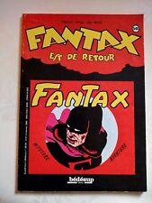 Bédésup Albums : Fantax est de retour / Chott