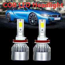 1 Pair White Cob LED Fog Lamp H8 H9 H11 6000K 36W HID LED Headlight Light Kits