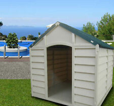 Doghouse for Dogs Large Dog or Medium Size Outdoor Resin cm 78X84X80