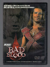 WWE - Bad Blood 2004 (DVD, 2004) L NEW excellent condition
