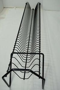 """48 CD Metal Storage Steel Holder Rack Stand Tower Media Display- Black - 32"""""""