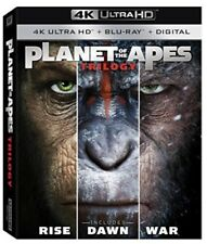 Planet Of The Apes Trilogy [New 4K UHD Blu-ray]