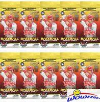 (10) 2020 Topps Series 2 Baseball HUGE Factory Sealed JUMBO FAT PACKS-340 Cards!