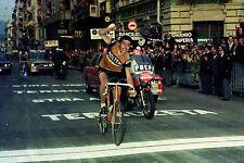 EDDY MERCKX TEAM MOLTENI MILAN SAN REMO 1976 VICTORY RETRO POSTER