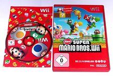 """Nintendo Wii juego """"New Super Mario Bros. Wii"""" completamente"""