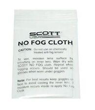 SCOTT No Fog Cloth for Goggles Recoil Speed Trap Hustle Snocross Goggle