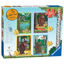 The Gruffalo 4 in a Box (12, 16, 20 & 24 Piece) Ravensburger Jigsaw