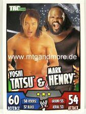 Slam Attax Rumble-Yoshi Tatsu & Mark Henry-día Team