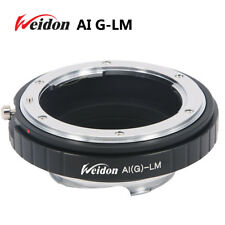 Weidon  Nikon G lens to Leica M LM camera Ring for M240 M9 with TECHART LM-EA7