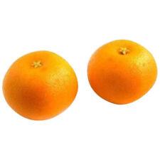 12pcs Artificial Kitchen Orange Small - Plastic Decorative Fruit Fake Oranges