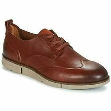 clarks mens trigenic trigen wing brown leather shoes various sizes