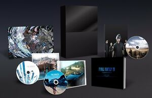 Final Fantasy XV Limited Edition Soundtrack FF 15 Collector's Blu-Ray Music Disc