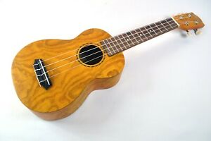 SOPRANO UKULELE WILLOW WOOD SATIN FINISH LATEST MODEL BY CLEARWATER