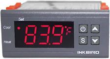 Termostato Fahrenheit Controlador De Temperatura Digital Dv 12v De Doble Etapa N