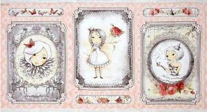 15 Yard Bolt Mirabelle La Vie En Rose Panels by Santoro for Quilting Treasures