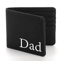 Mens Personalised Wallet Mens Birthday Gift Dad Name Initials Xmas Gift Idea W1