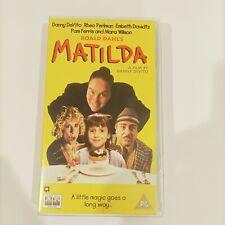 Matilda Roald Dahl Danny Devito film movie VHS Retro Classic