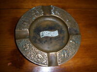 Vintage Brass Oil's First Century Advertising Ashtray 1859-1959