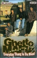 Ghetto Mafia Everyday Thang Da Hood Rap Hiphop Cassette Tape Single New Sealed