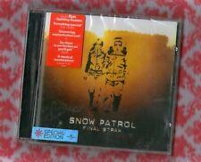 "Snow Patrol New Sealed Fast Freepost""2 Bonus tracks Final Straw"" CD in RUN"
