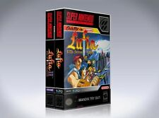 NEW custom game storage cases LUFIA 1&2 SNES -No Game- Rise of the Sinistrals II