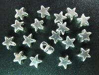 130pcs Tibetan Silver Tiny Star Spacer Beads T1418
