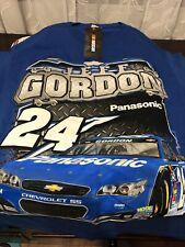 Jeff Gordon #24 NASCAR Panasonic T-shirt Size (M) Medium