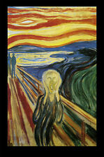 ART POSTER The Scream Edvard Munch