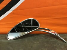 Harley Davidson Spiegel Links Original Vintage Chrome Mirror Original TÜV E-Nr