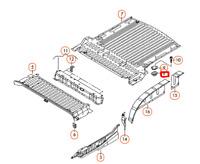 Volkswagen Caddy 2K Rear Floor Assembly Bracket 2K0801939 NEW GENUINE