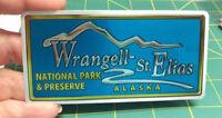 Alaska Foil Sticker - Wrangell St Elias National Park and Preserve Alaska