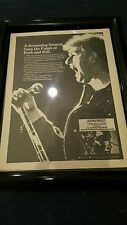 Judas Priest Stained Class Rare Original Promo Ad Framed!