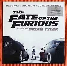 OST BRIAN TYLER– THE FATE OF THE FURIOUS  Soundtrack  Ltd 180g Silver vinyl 2LP