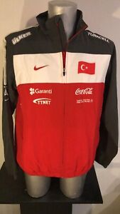 Turkey Nike Official Player Issue Jacket Size  Large Soccer Football Match Worn