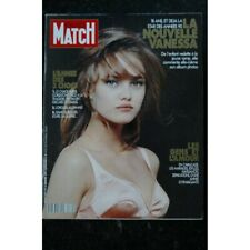 PARIS MATCH N° 2171 1991 Janvier  VANESSA PARADIS COVER + 8 Pages - STALLONE MAD