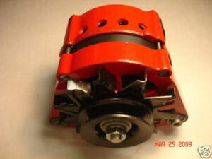 150 AMP RED BMW Alternator High Output Powder Coated & Vented Performance HD
