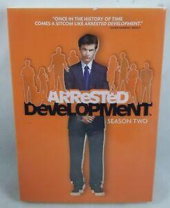 Arrested Development - Season 2 (DVD, 2009, 3-Disc Set)