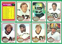 1976 TOPPS NEW ORLEANS SAINTS TEAM SET  EX-NM    ARCHIE MANNING