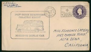 Mayfairstamps US 1941 Houston Mailed on Display Car Red Cross Cover wwp_91563